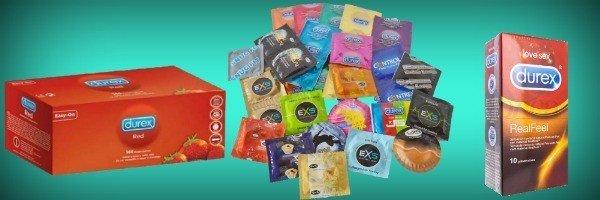 Comprar condones por primera vez