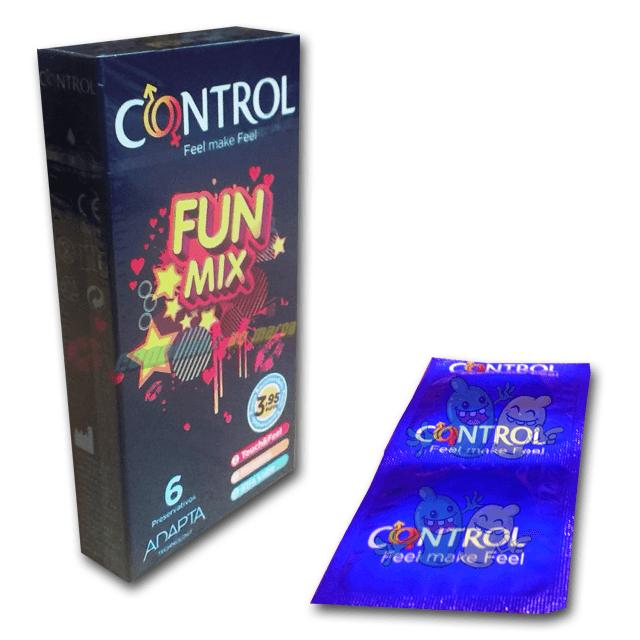 Control Fun Mix 6 condones