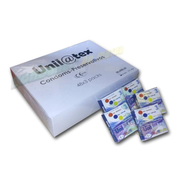 Unilatex Multifrutas 144 unidades