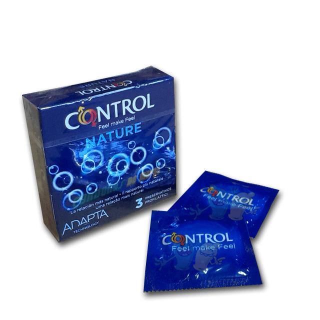 Control Nature Adapta 3 condones