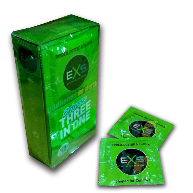 Exs Extreme 3 in One 12 condones