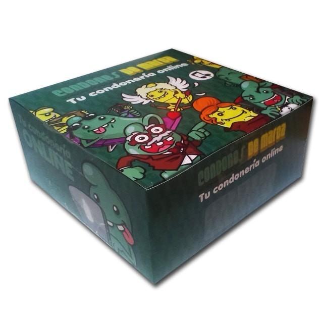 Caja 72 unidades a elegir -elige tus condones-