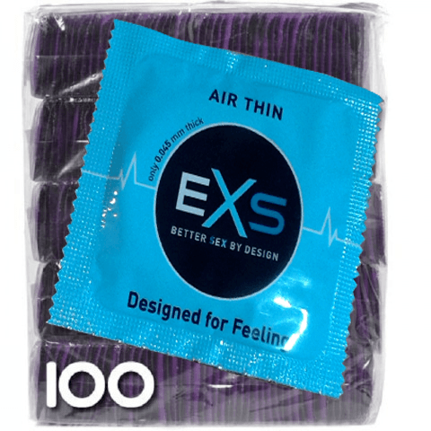 Exs Air Thin - El más fino 100 condones