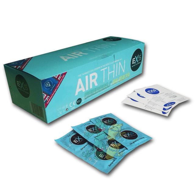 Exs Air Thin - El condón más fino 144 condones