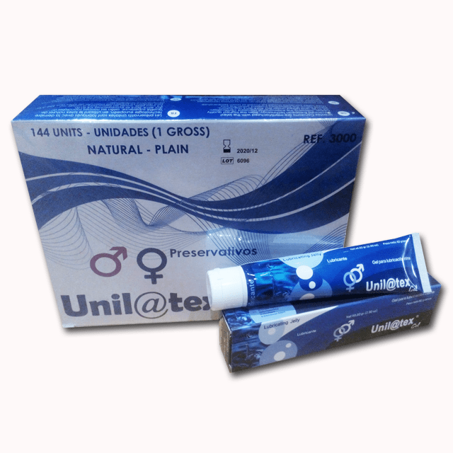 Unilatex 144 unidades + Lubricante natural