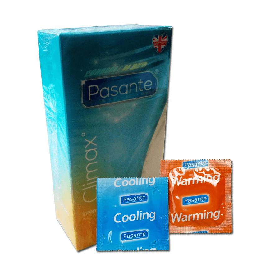 Pasante Climax / Calor y Frescor 12 condones