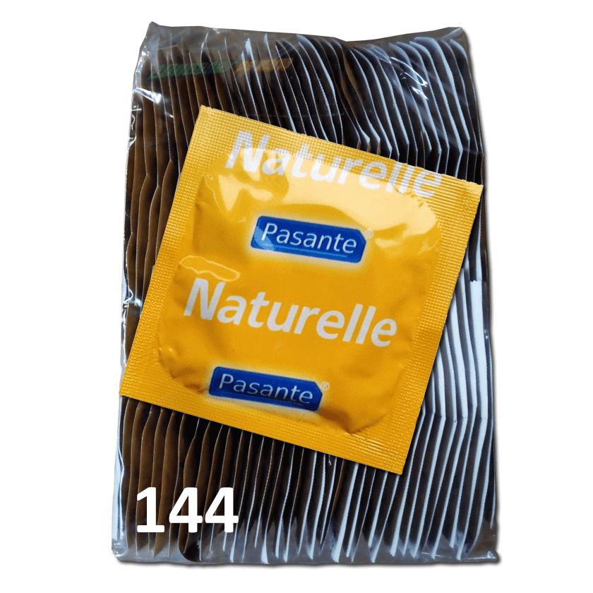 Pasante Naturelle / Anatómicos en bolsa de 144 condones