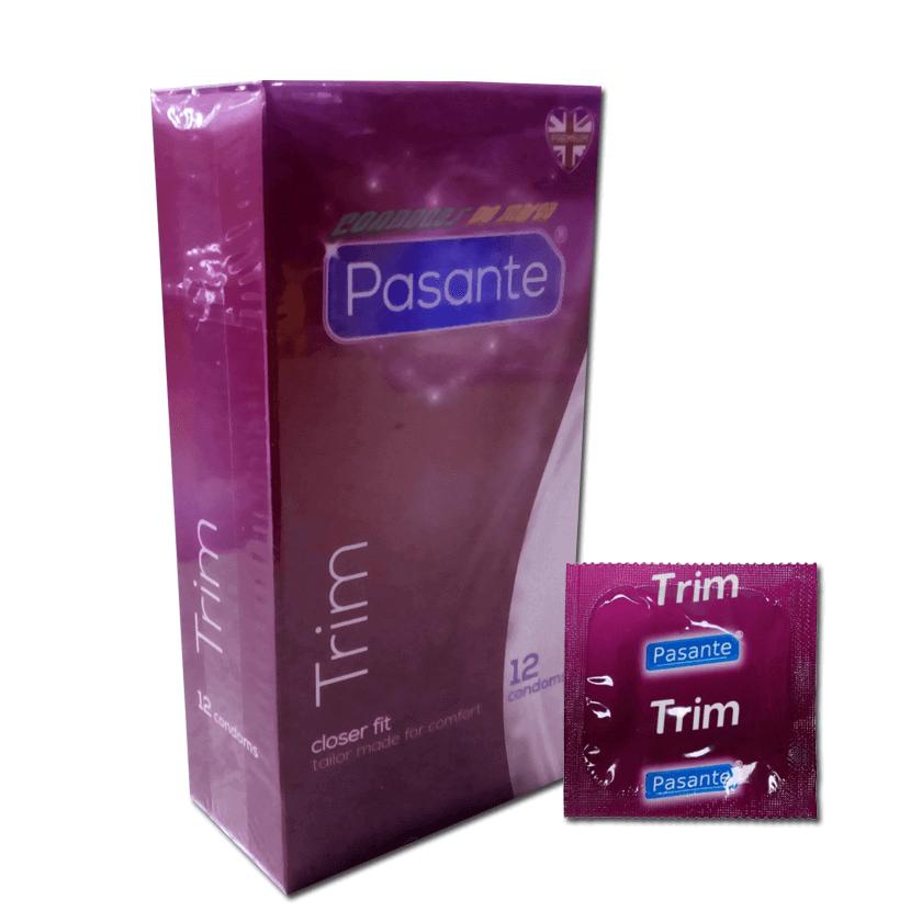 Pasante Trim XS Más Estrechos 12 condones