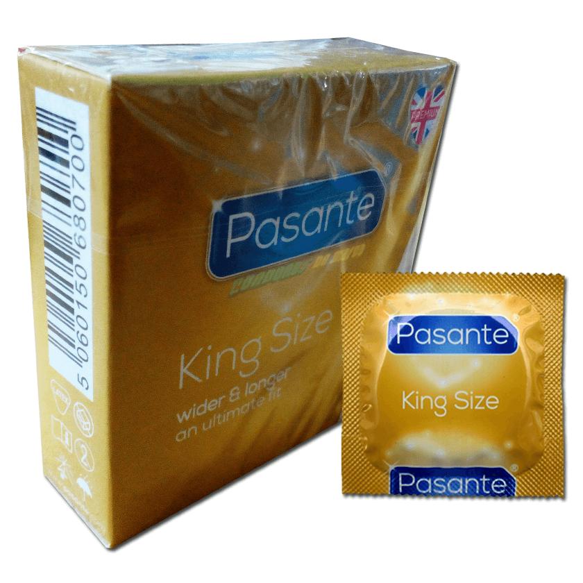 Pasante King Size / XL 3 condones