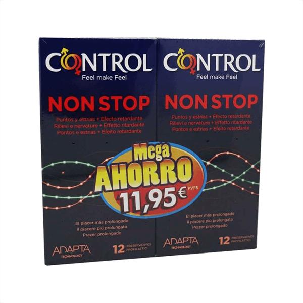 Control Non Stop Adapta 12 + 12 condones