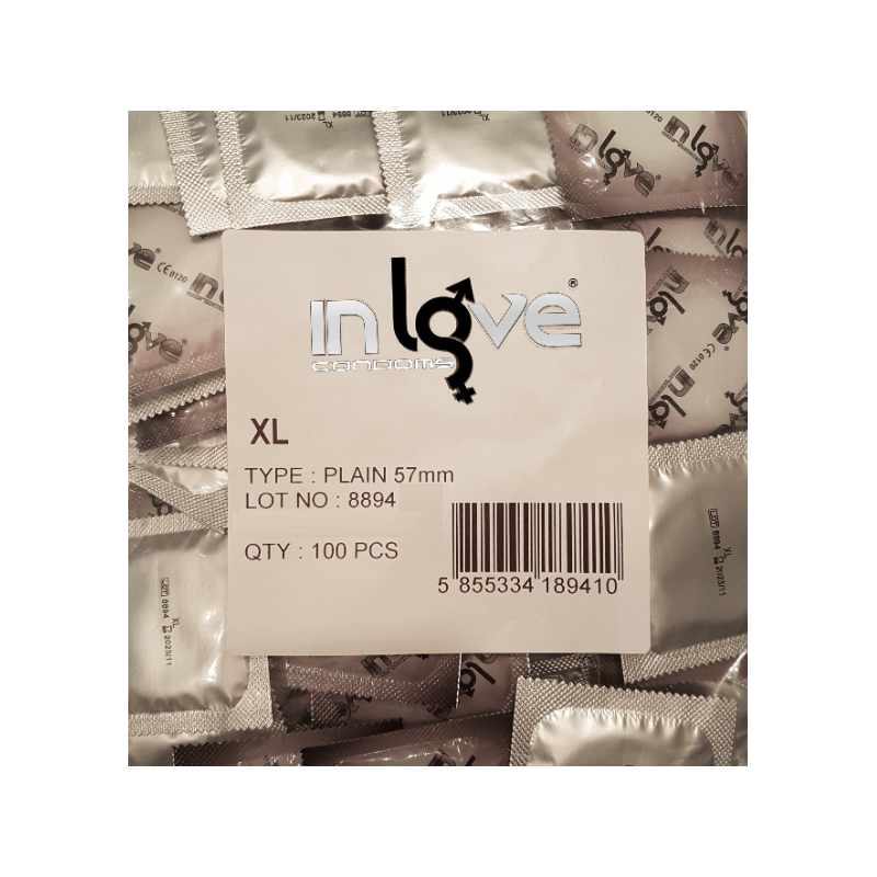 In Love Natural XL 100 condones