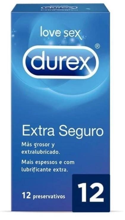Durex Extra Seguro 12 unidades