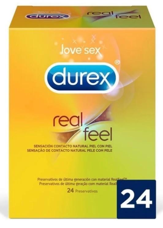 Durex Real Feel 24 unidades