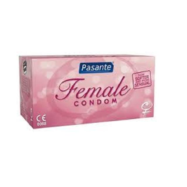 Pasante Condón Femenino en caja de 30 unidades