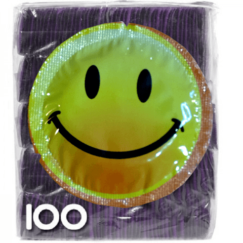 Exs Smiley Face 100 preservativos